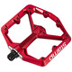 Crankbrothers Stamp Large Pedals red